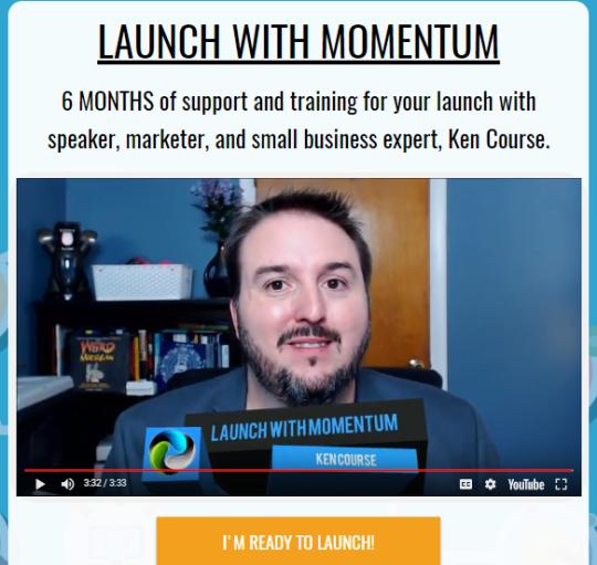 Launch the Momentum program image 1